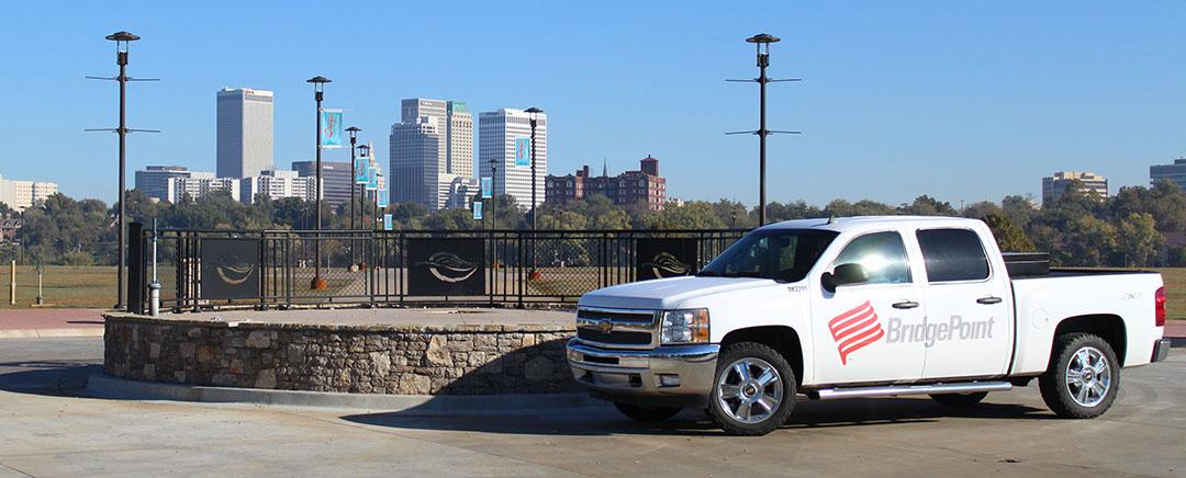 bridgepoint truck banner